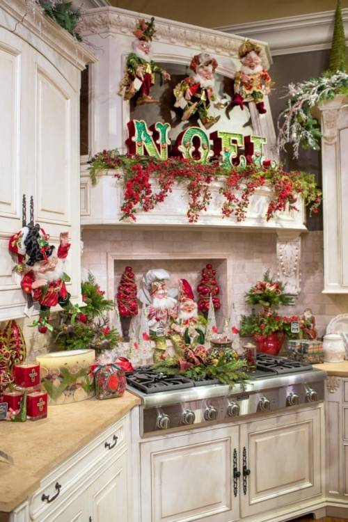 Posted on Jul 22,  2018 in Christmas Ideas Decorating above Kitchen Cupboards