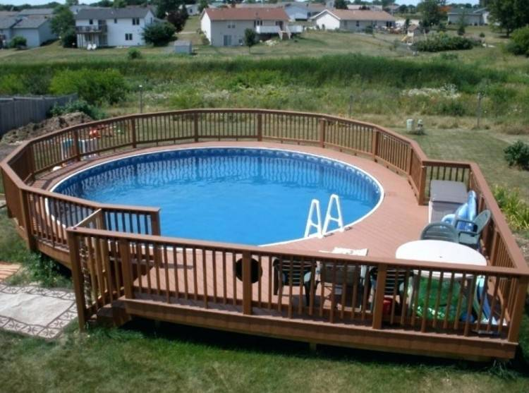 above ground pool decks whether deck designs pictures