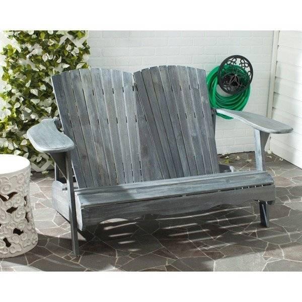 Related Safavieh Outdoor Living Karoo Ash Grey Acacia Wood Bench
