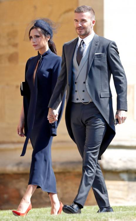 Despite failing to crack a smile during the big day, the fashion designer  loved the occasion and was full of praise for the gorgeous Givenchy gown  Meghan