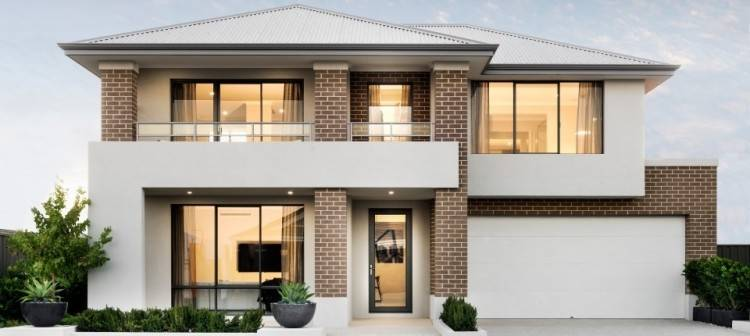 Double storey home suiting an 8