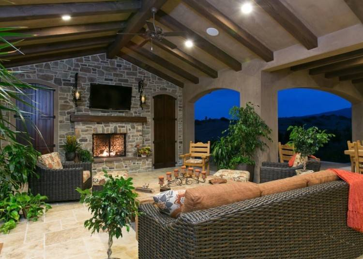 Creating an ideal outdoor living space is essentially  designing a
