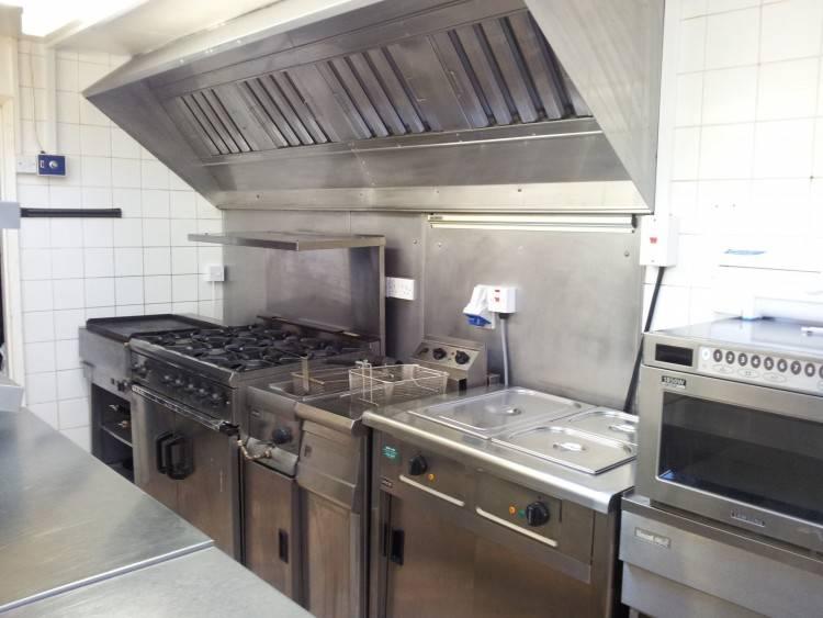 kitchen design for restaurant small