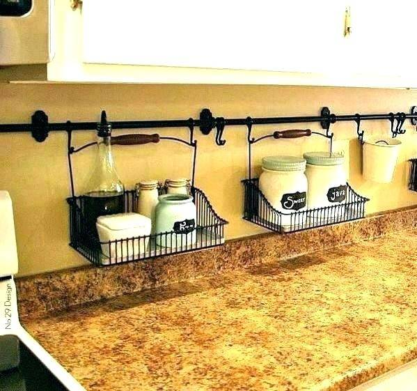 Kitchen Counter Organization Ideas Full Size Of To Decorate Corner  Shelf Rack Diy Storage Exciting Home