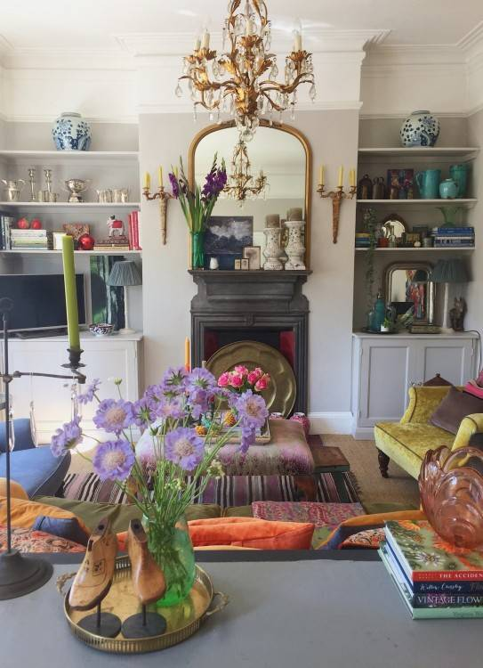 but for this couple, it was imperative that their new kitchen should  blend in seamlessly with the rest of their Edwardian property as