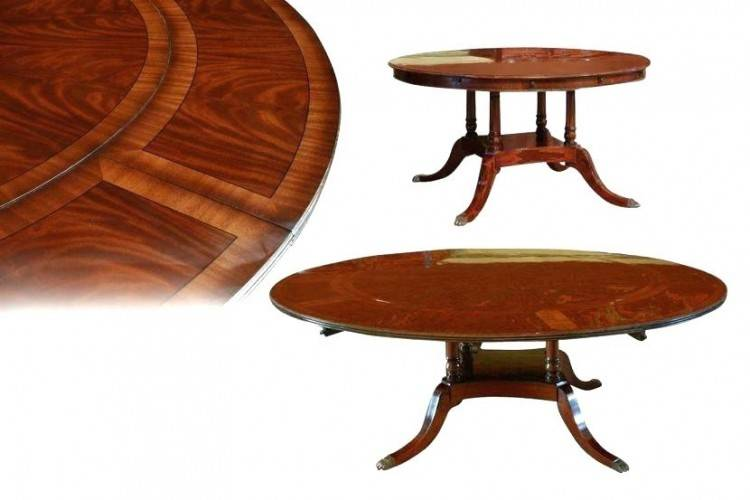 round dining table for 6 with leaf