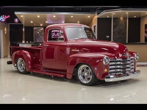 If you're a fan of restomod pickups then take a few minutes to check out  the Raybestos 1953 Chevy pickup