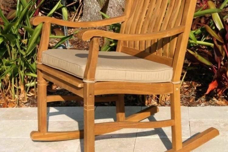 Rust Orange Velvet Chair Cushion