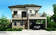 Captivating Four Bedroom Two Storey House Design For Double Story Plans  South Africa Captivating Ho Full
