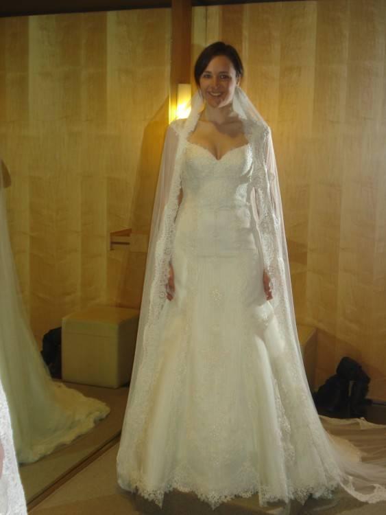 Mingli Tengda Custom Made Spanish Lace Wedding Dresses Western Country  Vestidos De Novia Mermaid Wedding Dress Bridal Gowns V Neck LongTrain Gown  For
