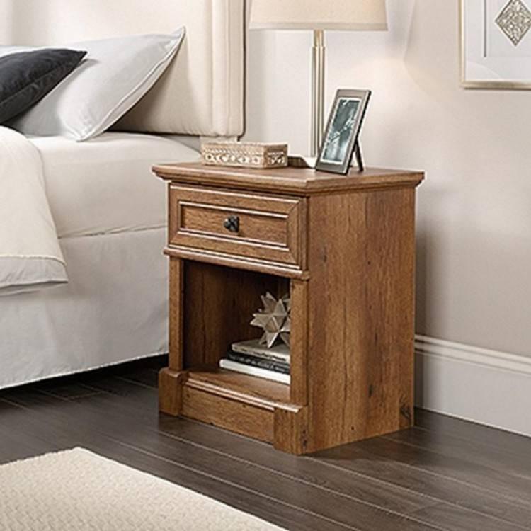 furnwish Wood Bed