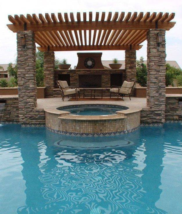 swinging pools landscape design