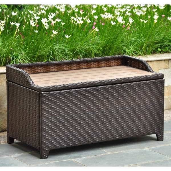 outdoor storage ottoman beautiful outdoor storage