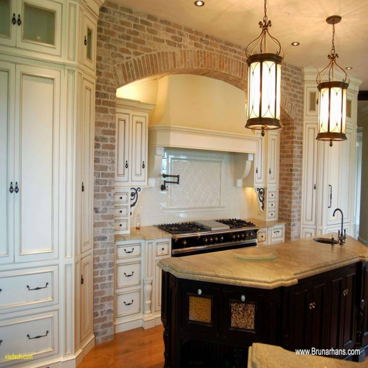 two tone cabinets in kitchen
