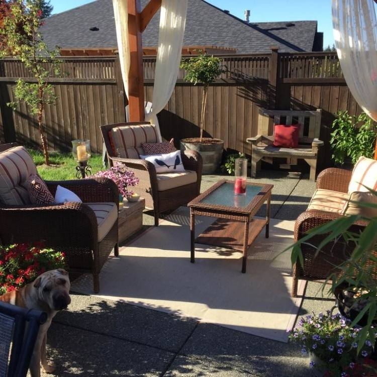 That extra step of making your yard a summer time oasis can make  your