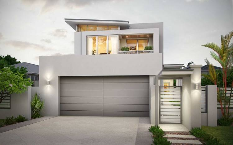 Narrow Lot House Plans Single Story Lovely 131 Best Single Storey House  Modern Images On Pinterest