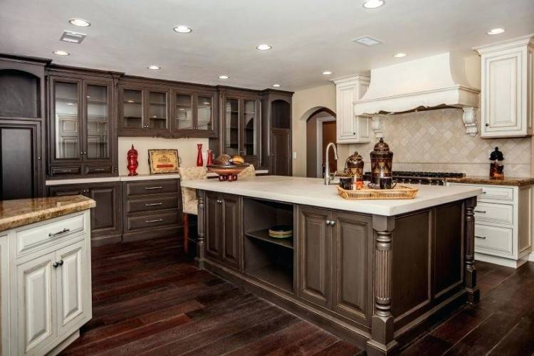 best two tone kitchen cabinets ideas for images on cabinet pics to