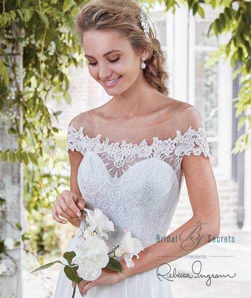 Mercy gown from the 2018 Rebecca Ingram collection, as seen on  dressfinder