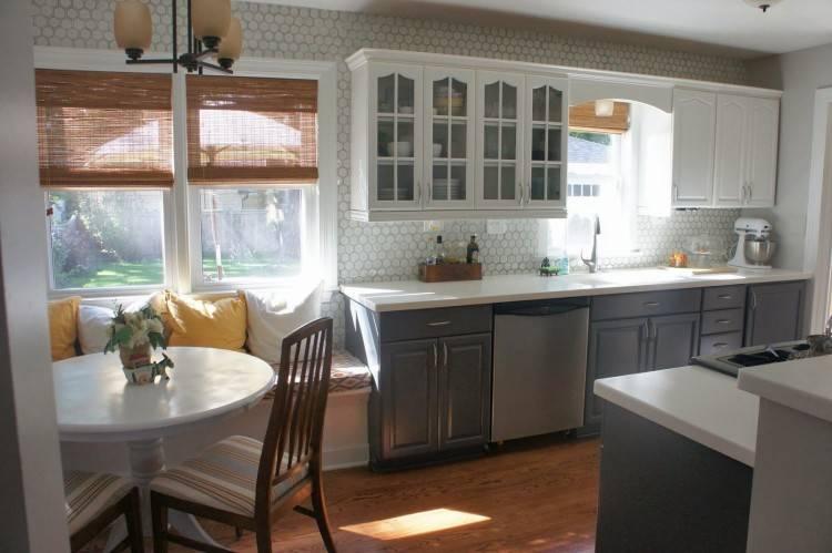 kitchen bay window over sink