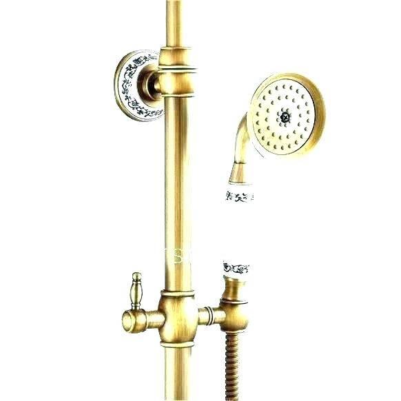 outdoor shower mixer exposed shower pipes handmade pipe copper brass outdoor  mixer coastline outdoor shower mixer