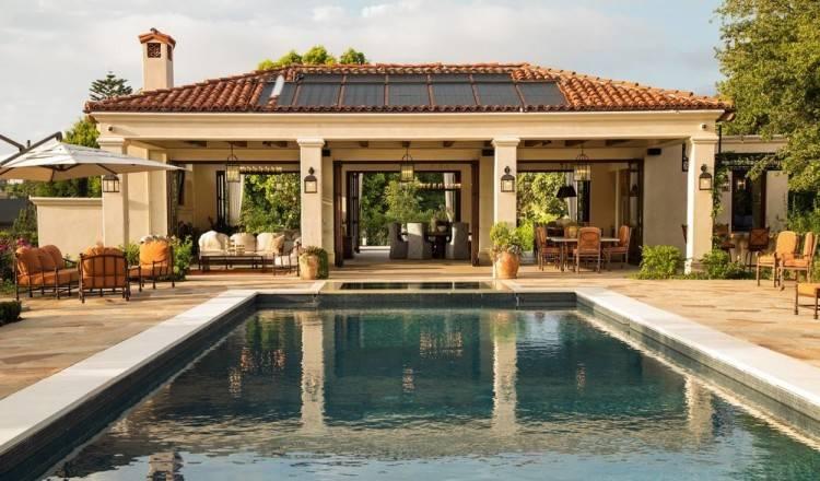 Barn Pool House