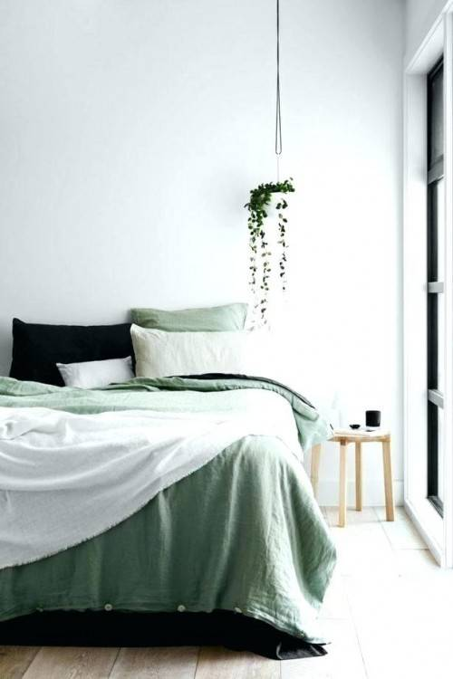 seafoam green bedroom