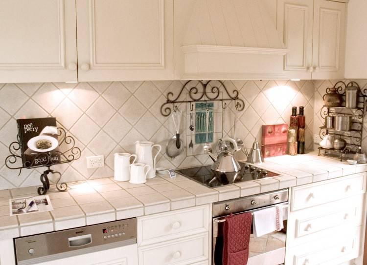 decide on a backsplash for your kitchen
