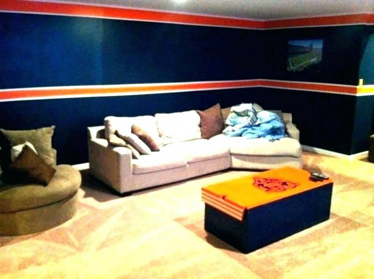 This is a widely popular man cave idea and for good reason