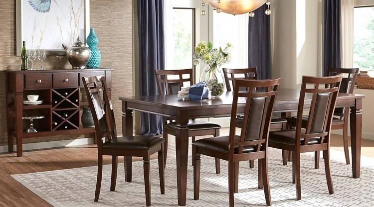Picturesque 72 inch round modern dining