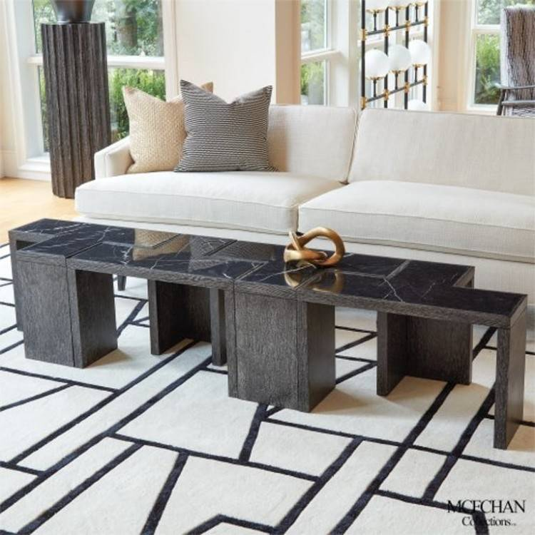 This Aya Square Corner Set is manufactured from resin weave and comes with  ALL WEATHER cushions