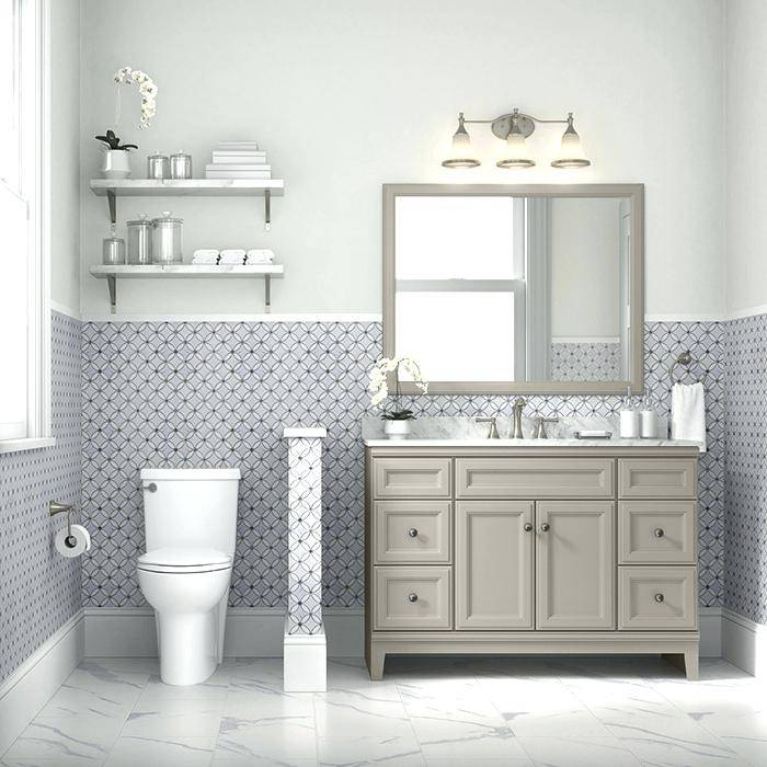 gray paint for bathroom