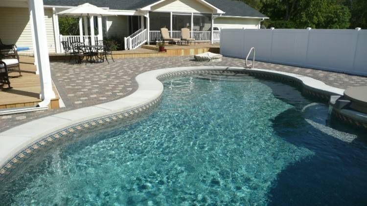 Inground Gunite Swimming Pool Design and Installation