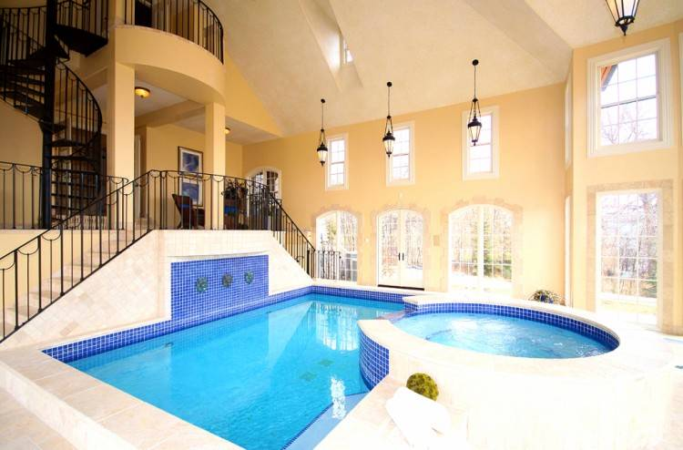 Interior Design, Indoor Swimming Pool Hvac Design And New Characteristics  Advantages Of Stainless Steel Pools