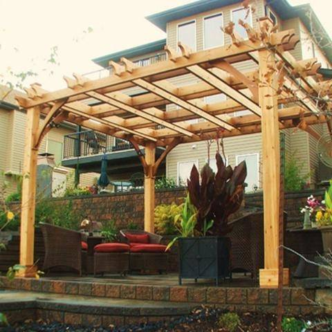 pergola kits 10 x 10 image of outdoor living today outdoor living today  arched breeze pergola