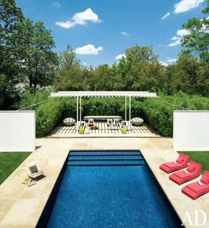 Decorating Luxury Pool Designs For Modern Backyard Design Ideas With Outdoor  Rattan Furniture Sets