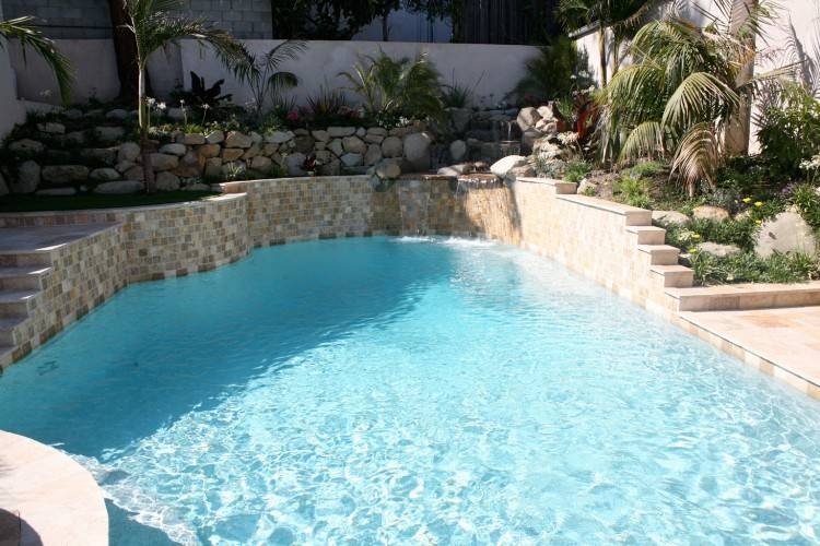 Great Photos Of Infinity Pool Decoration Design Ideas : Amazing  Backyard And Home Decorating Design Ideas