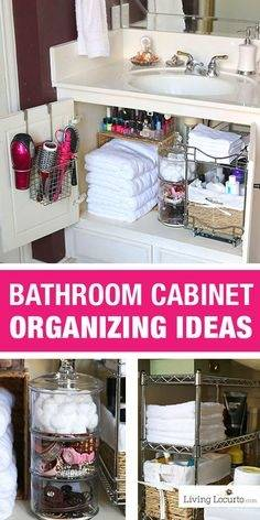 Bathroom Storage and Organization Ideas at the36thavenue