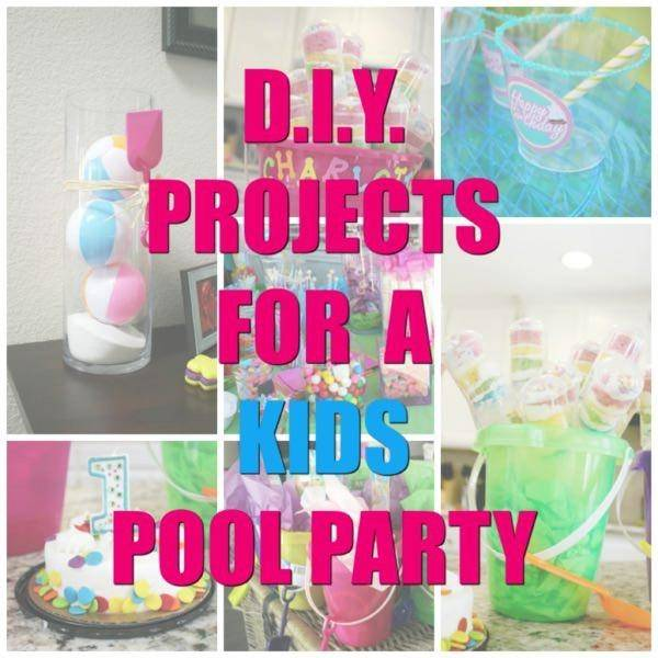 pool party decorations pool party ideas diy