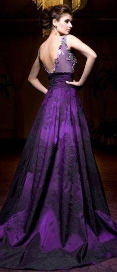Online Buy Wholesale royal purple wedding dress from China royal