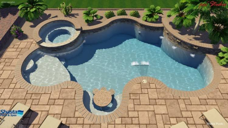 Arizona Pool Builder   Superior Pool Construction Shasta