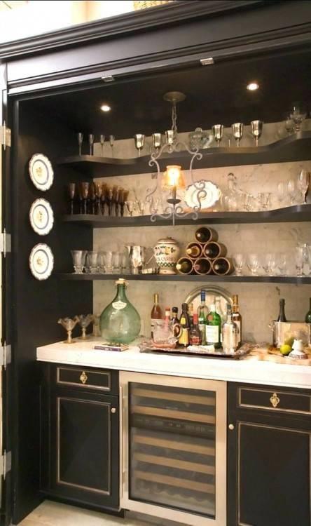 kitchen bar cabinet basement ideas