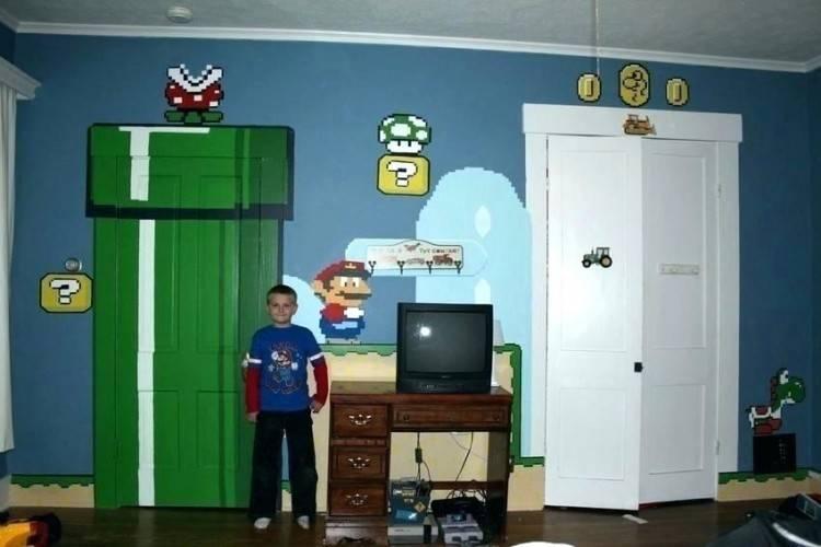 mario bedroom ideas