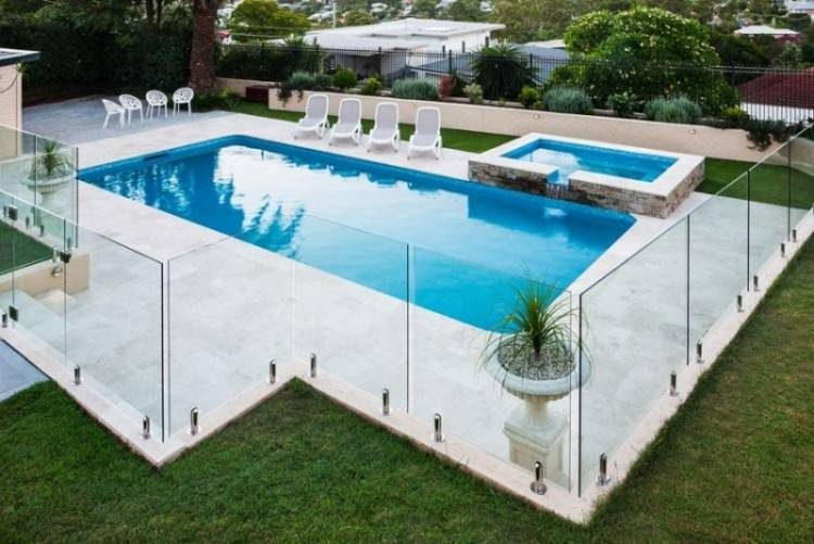 See Pool Fence Direct framless glass