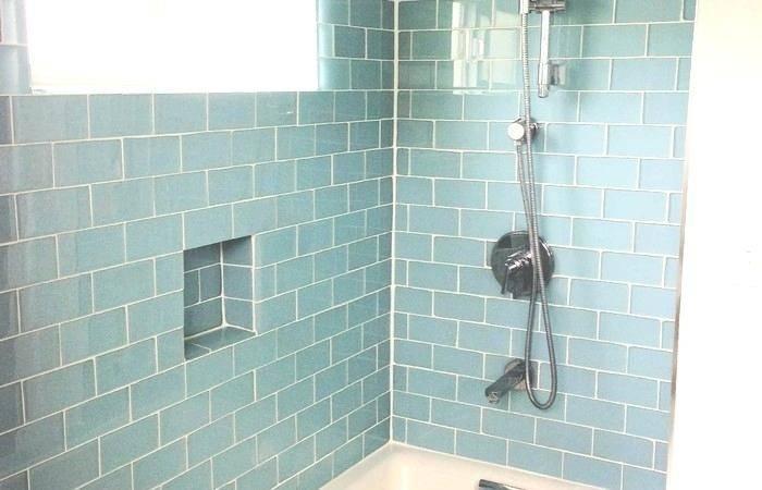 Cool Blue  Mosaic Bathroom Tiles Light Turquoise Tile Small Ideas