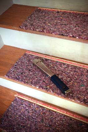 What Type of Stairway Carpet Installation? Preparing for a colonial wrap  installation