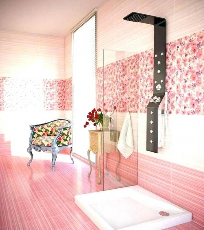 pink bathrooms