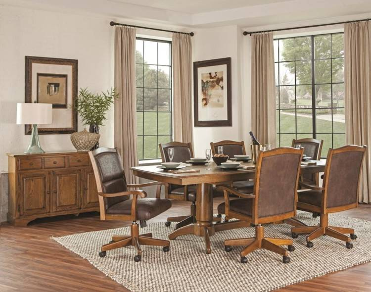 Brooks Furniture Arrow Back Oak Chair 1118M
