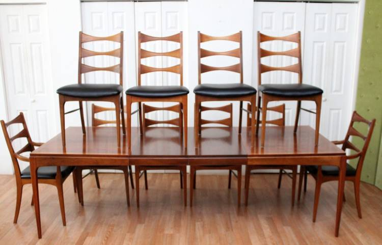 Beautiful Mid Century Dining Table And Chairs By Lane Room Set