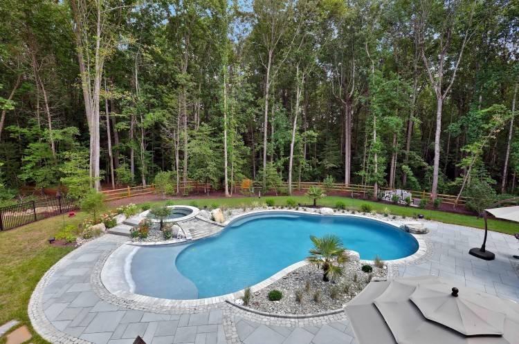Patio Backyard Jacuzzi Landscaping Outdoor Hot Tub Ideas Interior Design  Ultimate Deck Decks And Patios