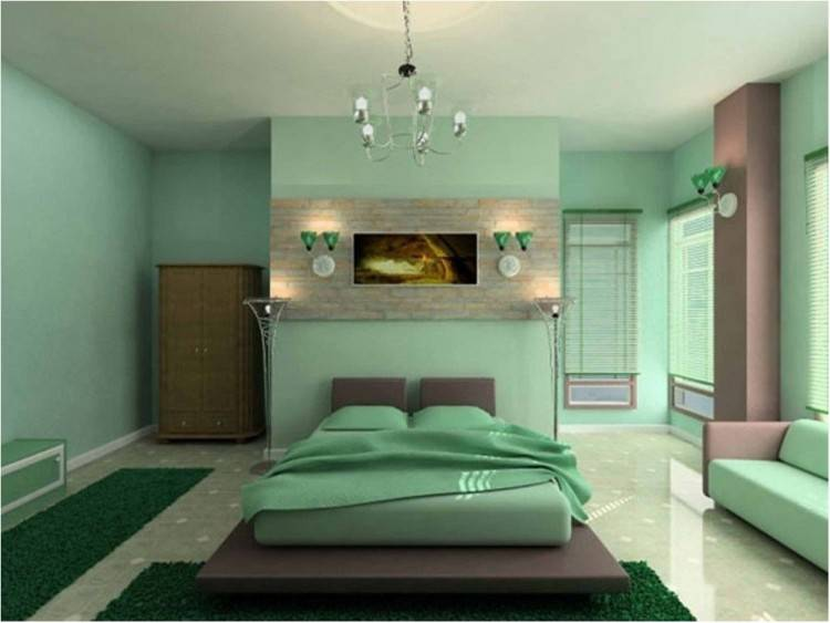 light seafoam green walls and coral bedroom paint color mint painted home  design